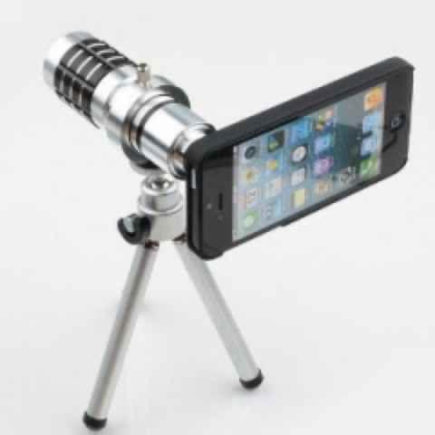 Aluminum Camera Telephoto Lens With Tripod--- Gracie