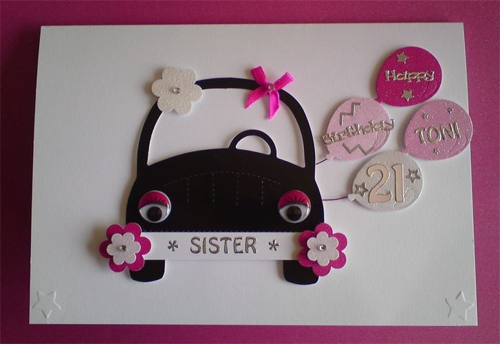 Handmade birthday cards, Birthday cards and Sisters on ...