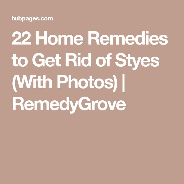 22 Home Remedies to Get Rid of Styes (With Photos) | RemedyGrove