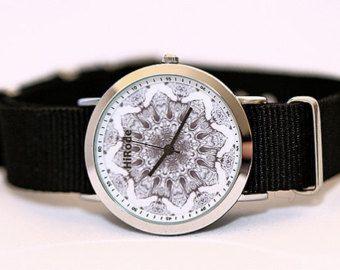 Tree of life kaleidoscope watch