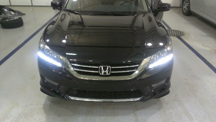 2013 Honda Accord EXL ground effects  Cars  Pinterest  2013