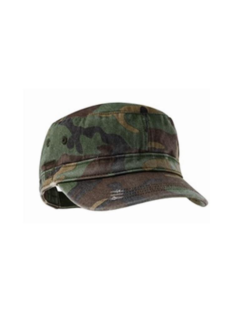 Camo Military Hat