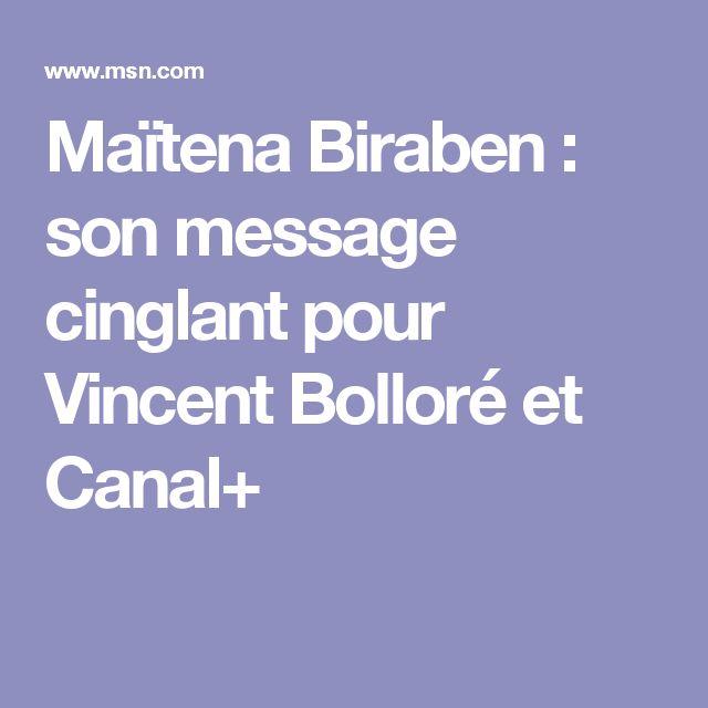 Maïtena Biraben : son message cinglant pour Vincent Bolloré et Canal+