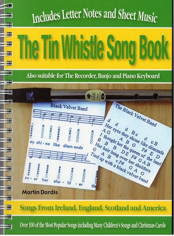 Sheet Music And Tin Whistle Notes - Irish folk songs