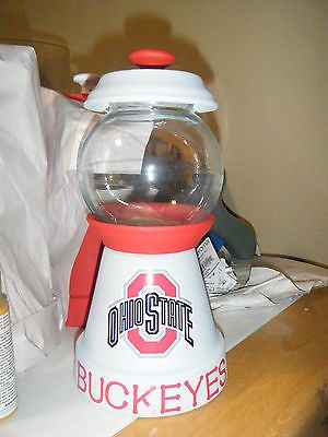 Ohio State Buckeyes Candy Jar