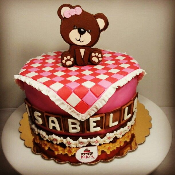 Baby shower cake / Bear cake / Baby shower party