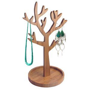 Porte-bijoux en bois brut Arbre Invotis    Porte-bijoux en bois brut. En forme d'arbre, il vous tend ses branches pour accueillir vos bijoux: collier, bracelet ou boucles d'oreille. Même nu, il reste un objet de décoration. Une idée cadeau pour les femmes de Invotis.