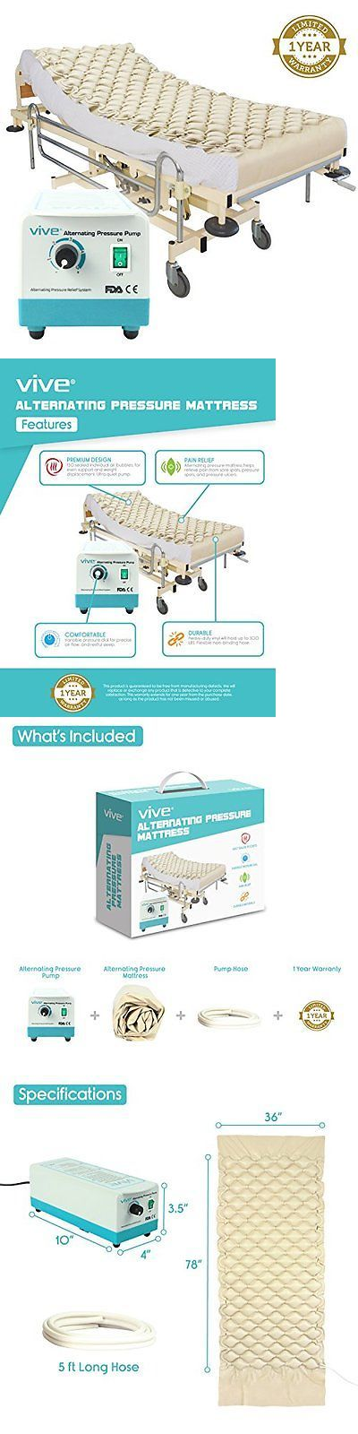 Other Orthopedic Products: Pressure Mattress Electric Pump Inflatable Hospital Bed Pad Ulcer Sore Treatment -> BUY IT NOW ONLY: $94.79 on eBay!