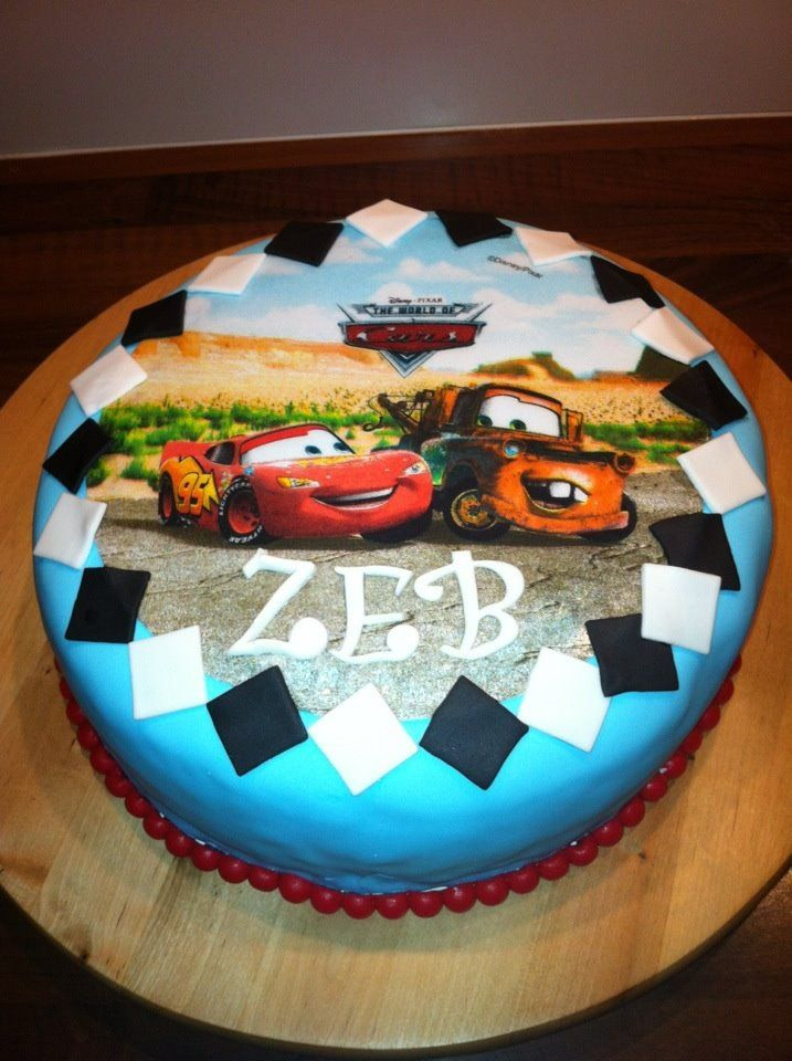 Cars taart.