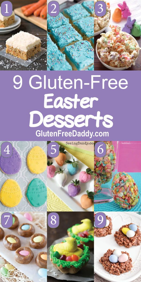 I have 9 of the best ever gluten-free Easter Desserts recipes for you to make fo…   – what a cute idea
