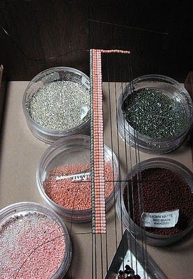Beads Beading Beaded, with Erin Simonetti: Looming with Large and Small Beads