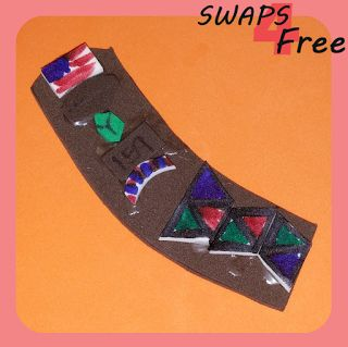 SWAPS4Free: Brownie Sash with Patches Scout SWAPS - Free Printable Pattern and Easy to Follow Step by Step Instructions! #GirlScoutSWAPS