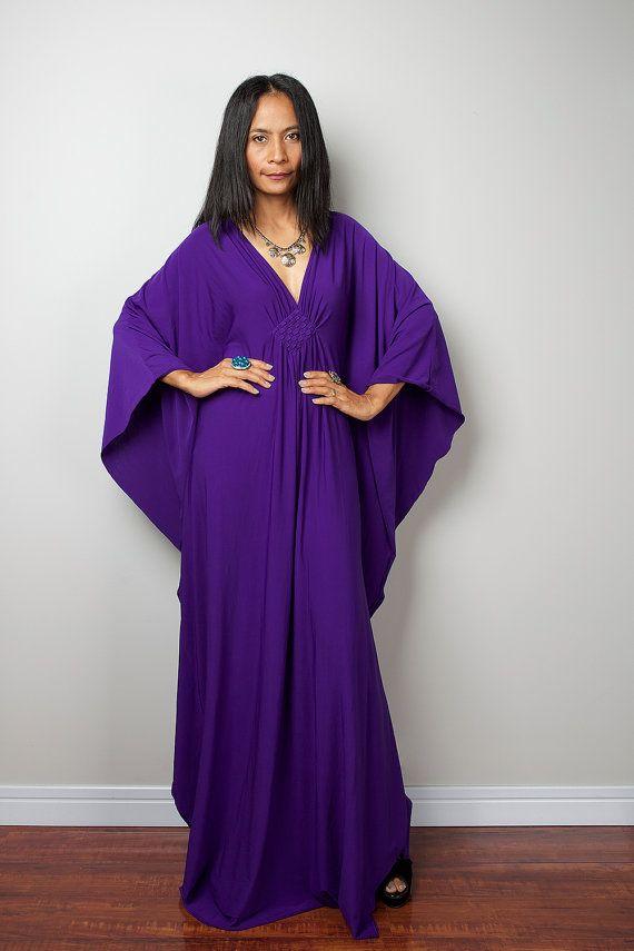 Hey, I found this really awesome Etsy listing at https://www.etsy.com/listing/269491623/purple-maxi-dress-kaftan-kimono