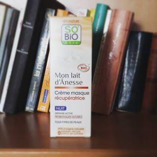 ★ Blog beauté Etteilla★ : [Mon lait d'ânesse] Crème masque récupératrice nui...