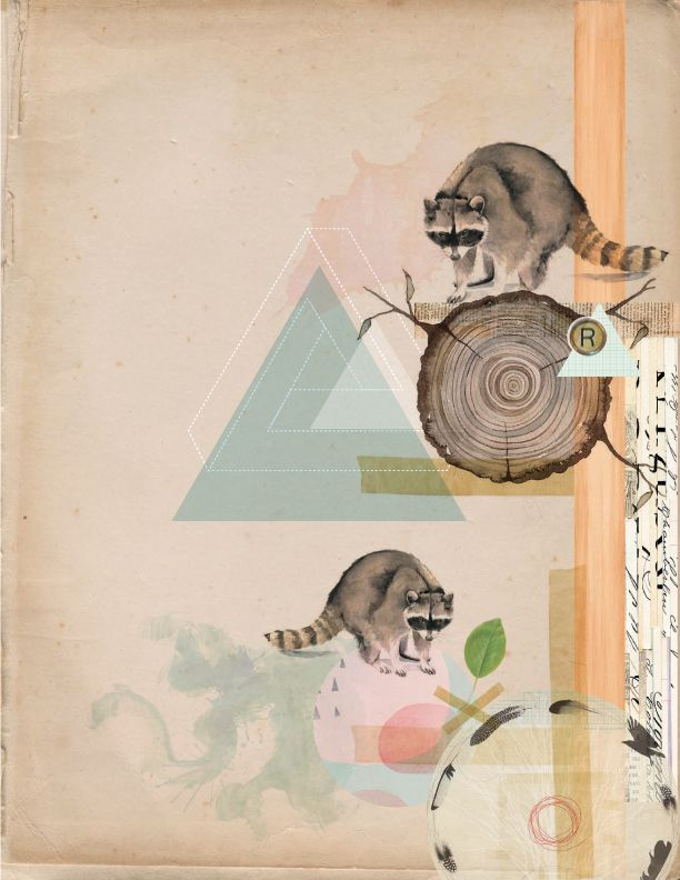 Collage by Luisa López