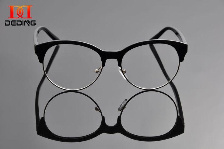 2017 Optical Eye Glasses Women Round Retro Glasses Frame Female Optical Frame Men Vintage Eyeglasses Oculos Gafas Mujer DD0974