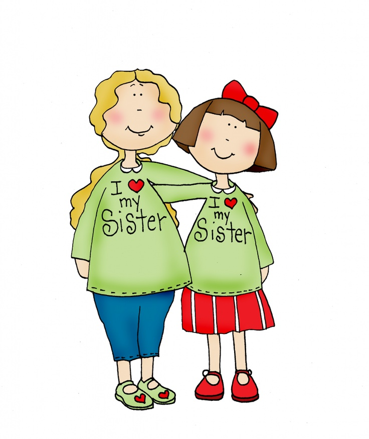 clipart of sisters - photo #40