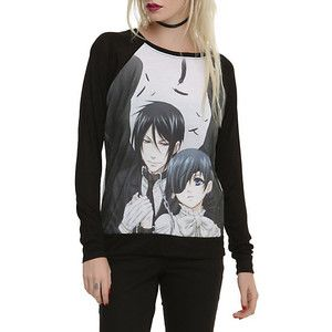 sorry not aot but it is black butler attack on titan clothes hot topic - Google Search