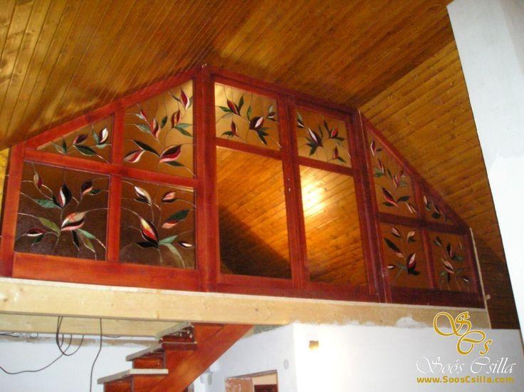 Vitráž Výplne Predeľovacieho Okna http://sk.sooscsilla.com/vyroba-vitraze-okien-a-dveri/ http://sk.sooscsilla.com/portfolio/vitraz-vyplne-predelovacieho-okna/