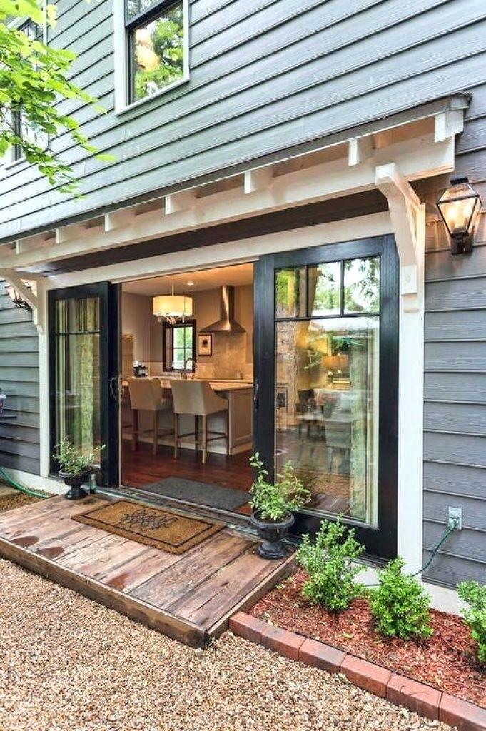 french glass garage doors modern