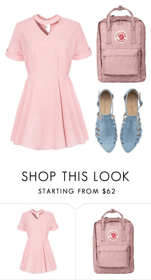 """""""pink"""" by helga-fly on Polyvore featuring Fjällräven"""