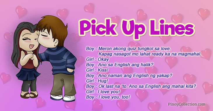 Tagalog Pick Up Lines: 120+ Sweet, Cheesy & Funny Pick Up ...