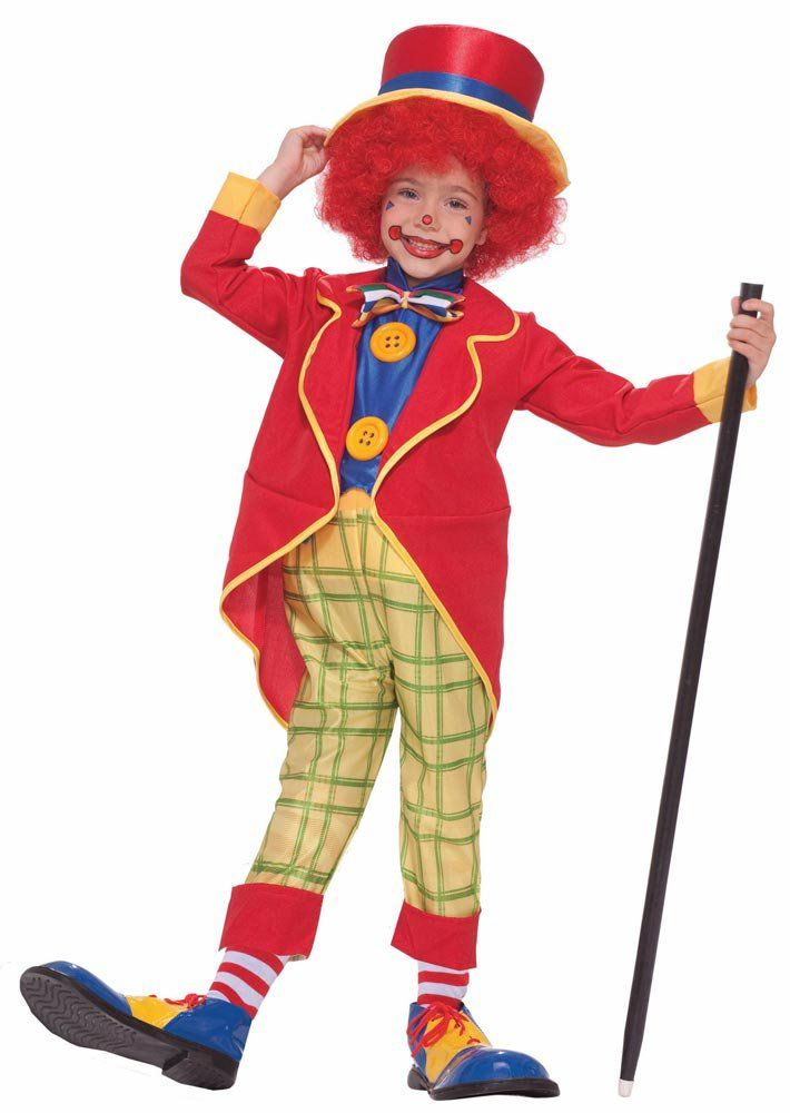 Toddler Boys Little Clown Costume Clown Costumes - Mr. Costumes