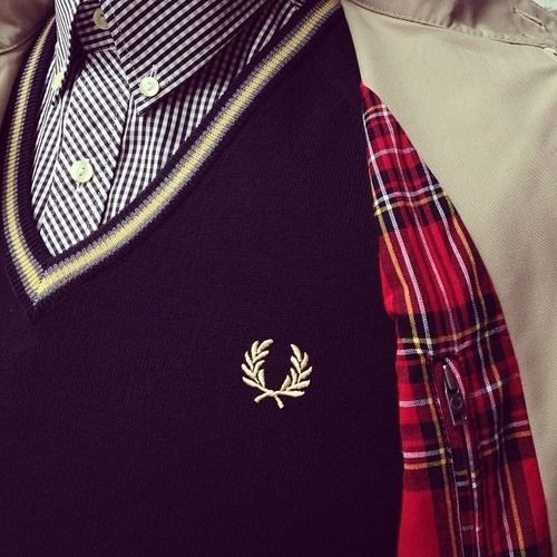 Fred Perry via Tumblr