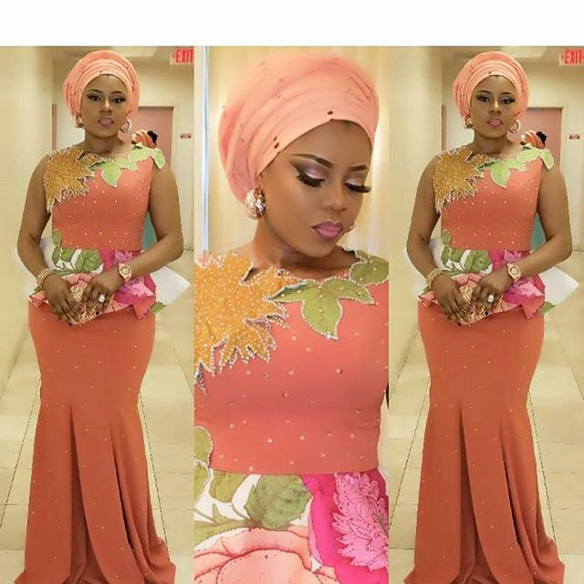 Aso Ebi Lace Styles. Hello ladies,owambe party is nothing new to us, so you will always have lace fabrics available to rock owambe parties. Okay, these are