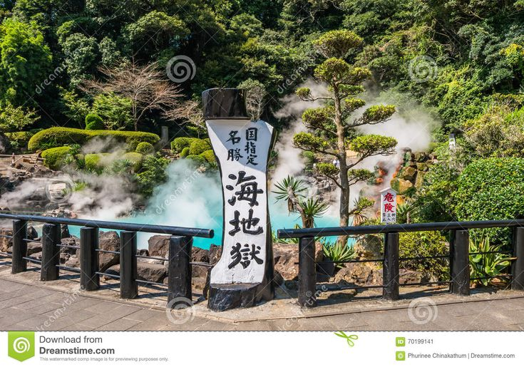 Umi Jigoku Or Sea Hell In Beppu, Oita, Japan. Editorial Photo ...