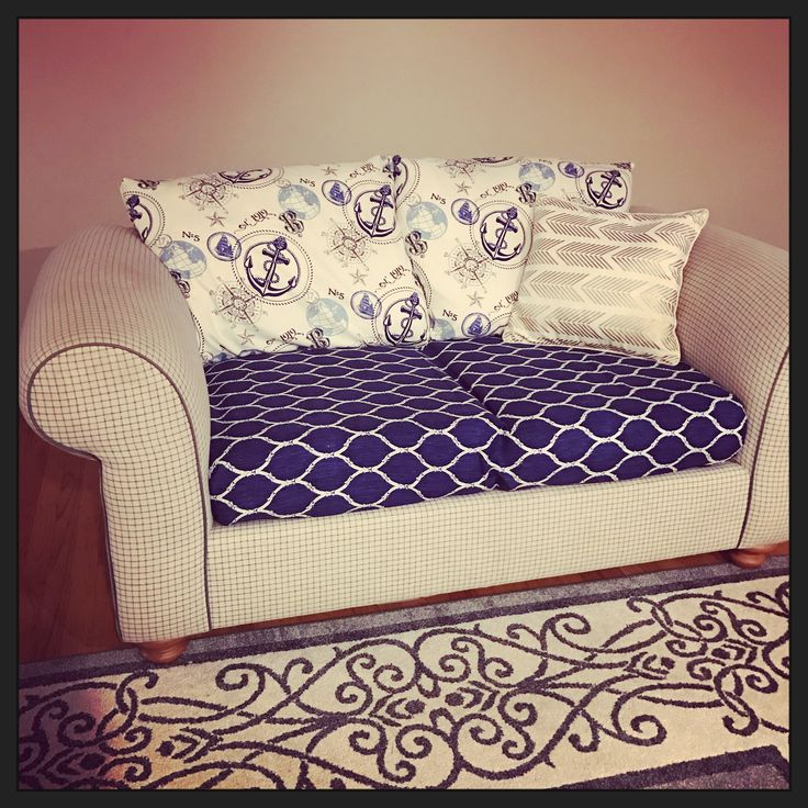 DIY Couch Cover! Simple Slip Cover Pillows With Cheater