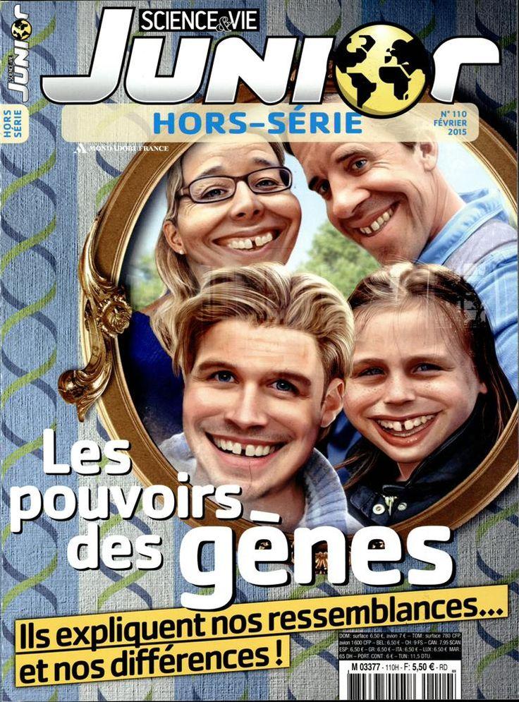 Science & Vie Junior Hors-Série n °110, février 2015 - Les pouvoirs des gènes