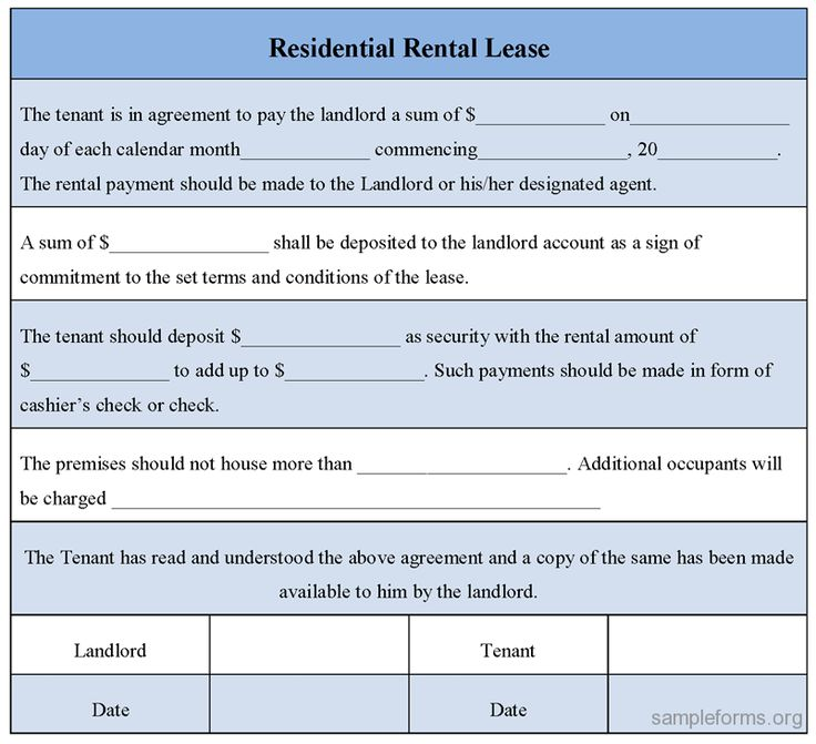 Rental Lease Real Estate Forms Real estate forms
