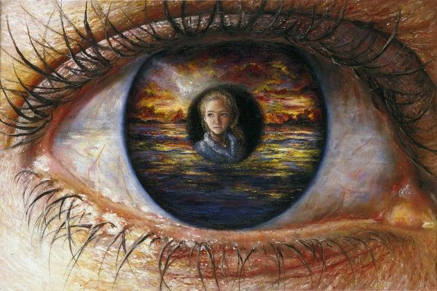 Infinite Perspective | Akiane Kramarik Age 13 What a cool painting of perspective!!