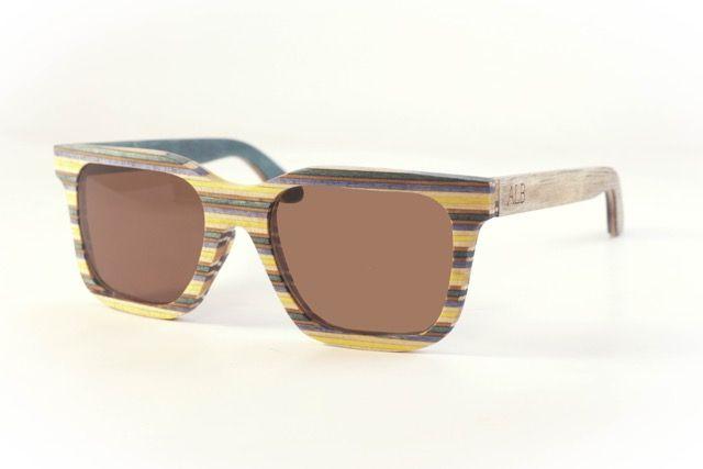 Atelier La Bûche - Paire n°4 #skatesunglasses #Wood #Sunglasses #Bois #lunettes #design #Nantes