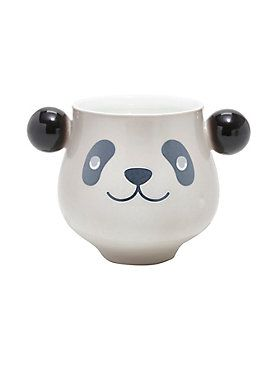 """No pandas were harmed in the making of this product! With this color-changing panda mug, your panda will remain safe! Made with quality ceramic and heat sensitive paint the panda stays incognito. To free him simply fill with hot water and watch him appear. Hold onto his panda ear handles and sip away. <br><ul><li style=""""list-style-position: inside !important; list-style-type: disc !important"""">Ceramic</li><li style=""""list-style-position: inside !important; list-style-type: disc…"""
