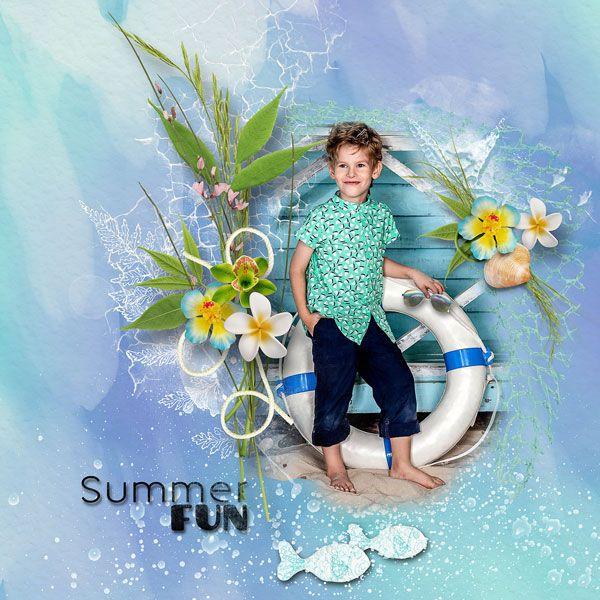 """Hello Summer"" by Palvinka Designs @ TheDigiChick  http://www.thedigichick.com/shop/Hello-Summer-Collection.html  photo Jekatěrina Jepiševa use with permission"