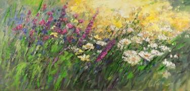 "Saatchi Art Artist Margaret Raven; Painting, ""Crazy Wind"" #art"