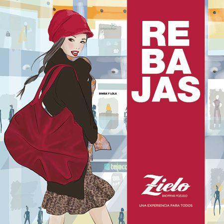 ¡¡Llegan las Rebajas a Zielo Shopping Pozuelo!! Moda, cosmética, complementos, decoración... todo lo que necesitas para estar a la última. Ven y disfruta de primeras marcas a precios bajo cero. #Zielo #Rebajas #Sales