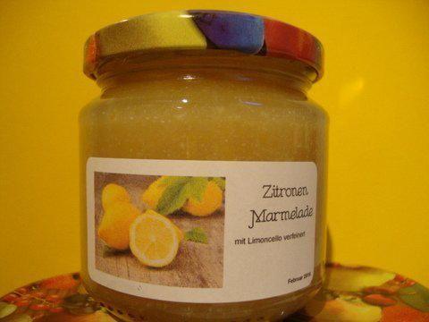 feincremige Zitronenmarmelade - Rezept mit Bild - kochbar.de