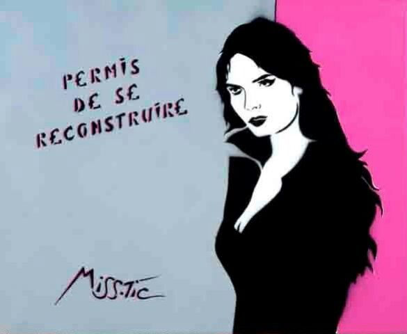 Miss Tic - Permis de se reconstruire