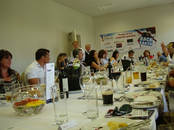 Corporate meal - Yorkshire Show