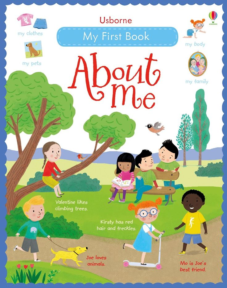 "Find out more about ""My first book about me"", write a review or buy online."