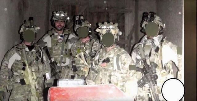 Delta Force A Squadron operators in Afghanistan circa. 2009-2010