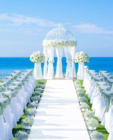 湘南の海と潮風に囲まれて、記憶に残るガーデンセレモニー♡国内リゾートでの結婚式一覧♡ウェディング・ブライダルの参考に!