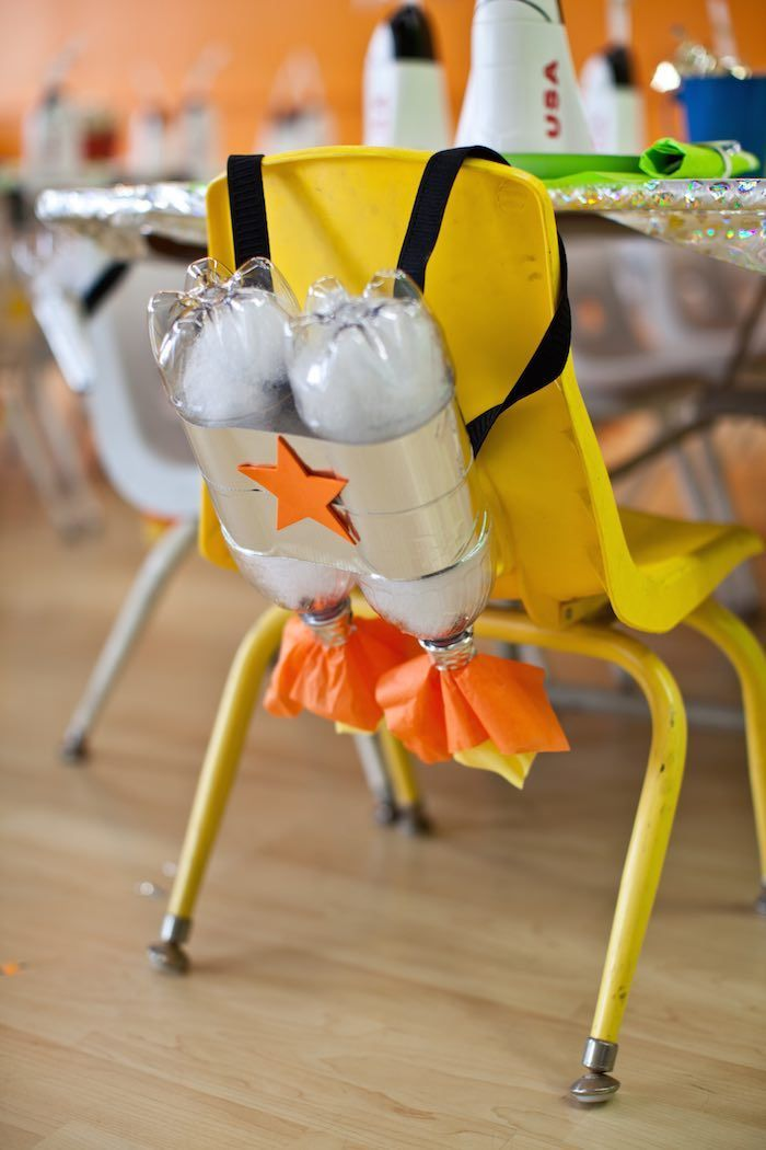 Rocket Ship Birthday Party via Kara's Party Ideas | KarasPartyIdeas.com (30) – #…