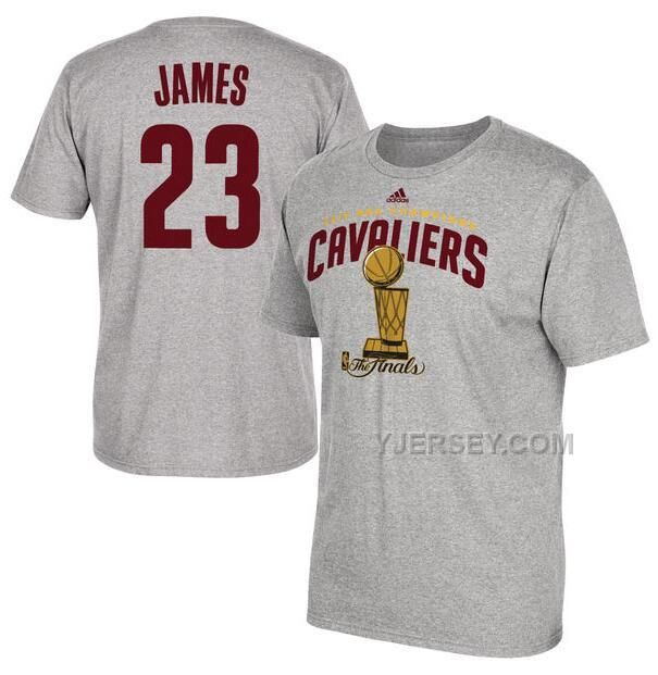 http://www.yjersey.com/mens-cleveland-cavaliers-lebron-james-adidas-heather-gray-2016-nba-finals-champions-name-number-tshirt.html Only$27.00 MEN'S CLEVELAND #CAVALIERS #LEBRON JAMES ADIDAS #HEATHER GRAY 2016 #NBA FINALS CHAMPIONS NAME & NUMBER T-SHIRT Free Shipping!