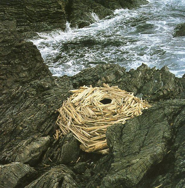 Scotland -  environmental art by Andy Goldsworthy