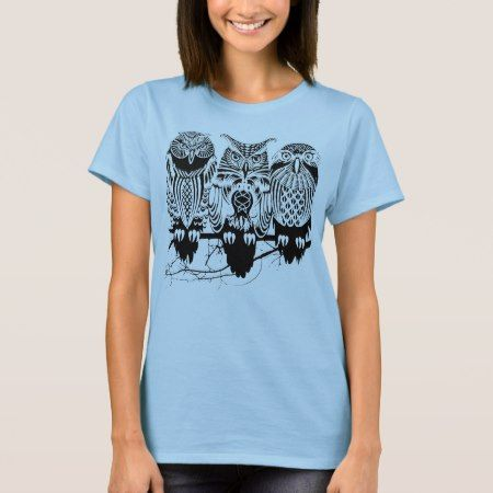Celtic Owl T-Shirt - click/tap to personalize and buy