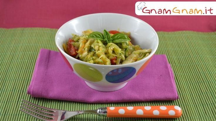 Insalata di pollo con pesto - Gnam Gnam